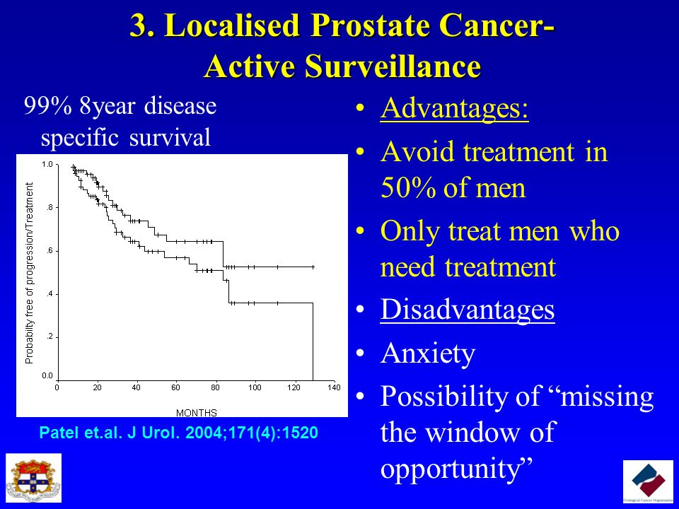 3. Localised Prostate Cancer- Active Surveillance