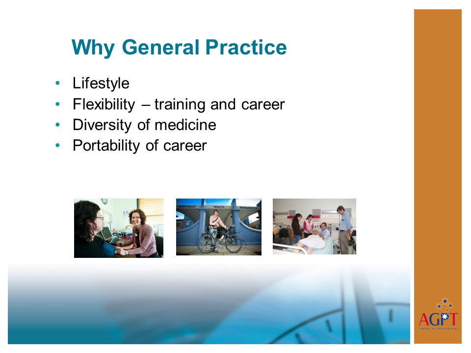 Why General Practice Lifestyle Flexibility – training and career