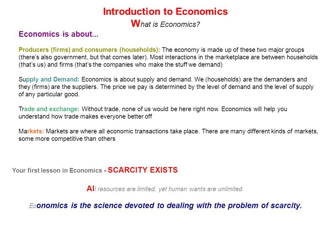 unit 1 introduction to economics ppt download. Black Bedroom Furniture Sets. Home Design Ideas