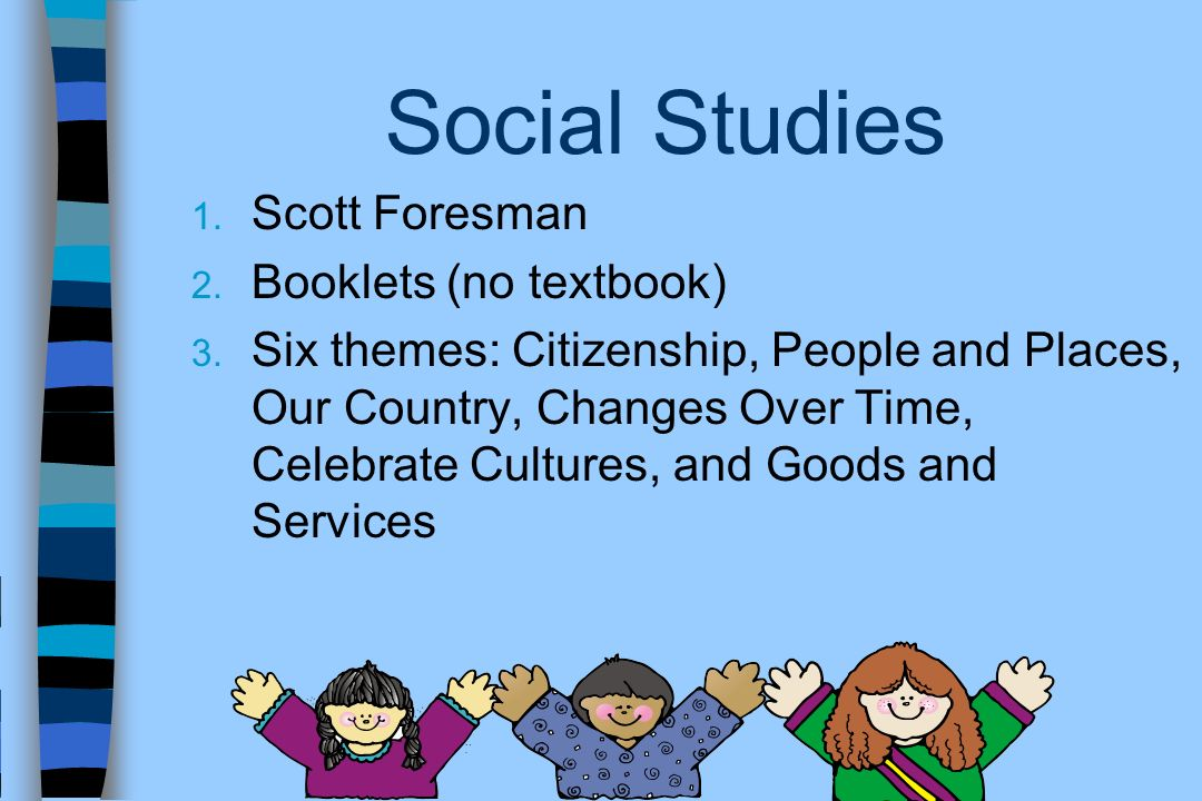 Social Studies Scott Foresman Booklets (no textbook)