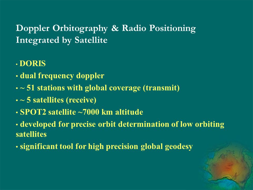 Doppler Orbitography & Radio Positioning Integrated by Satellite