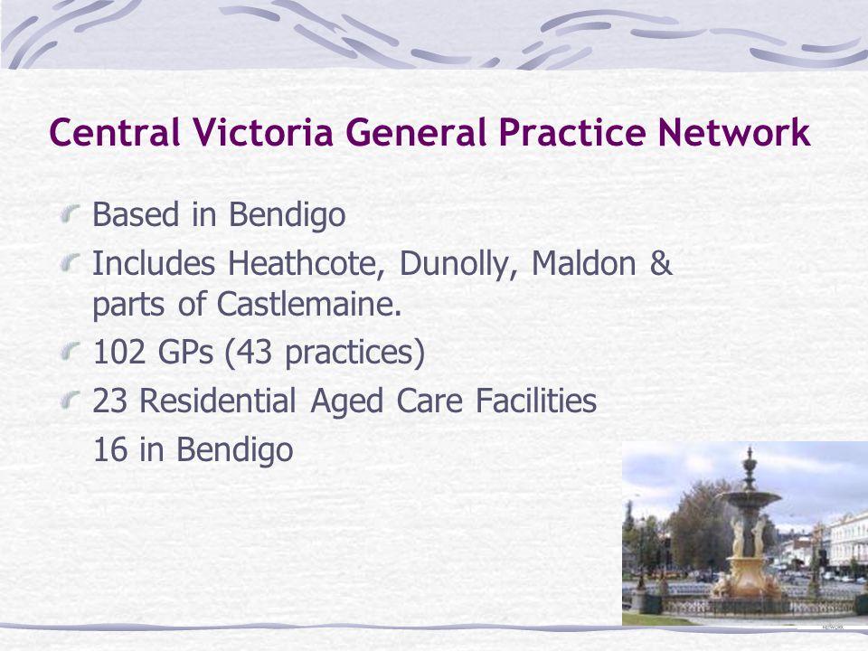 Central Victoria General Practice Network