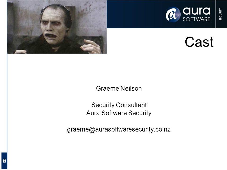 Aura Software Security
