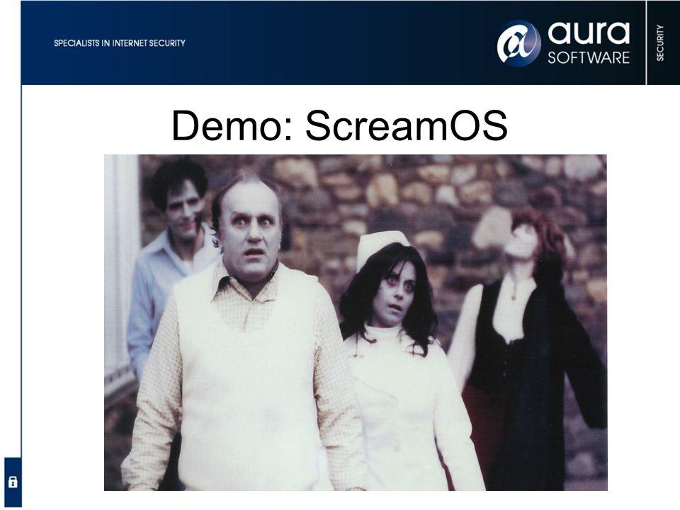 Demo: ScreamOS Golden Raspberry