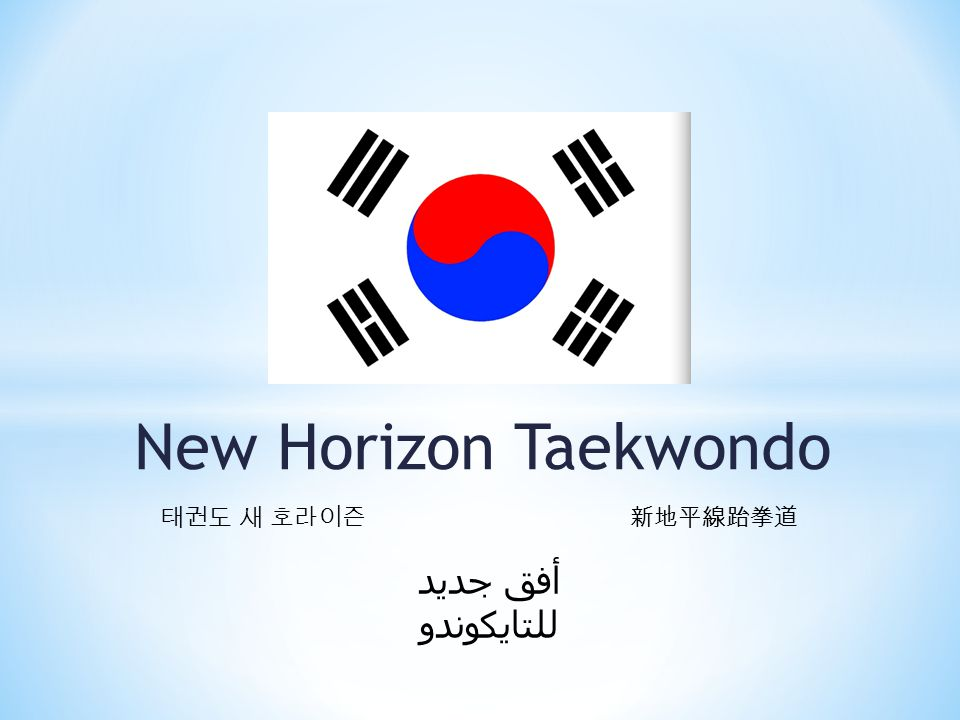 New Horizon Taekwondo 태권도 새 호라이즌 新地平線跆拳道 أفق جديد للتايكوندو