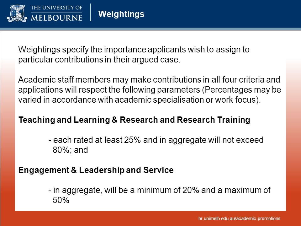Teaching and Learning & Research and Research Training