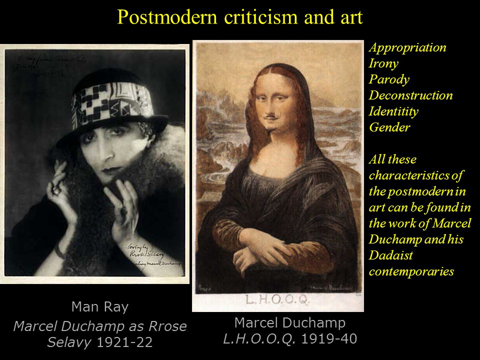 Postmodern criticism and art