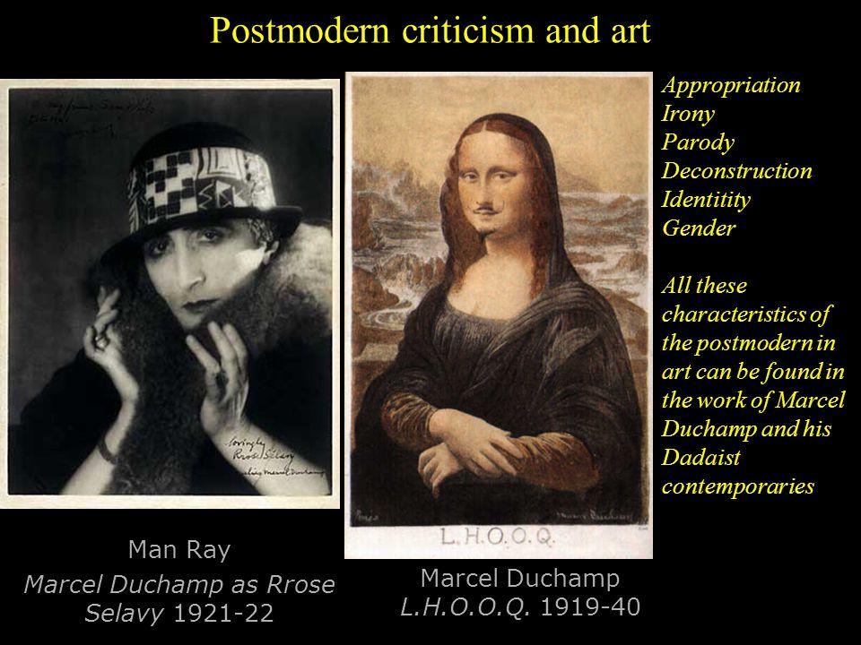 Postmodern criticism and art