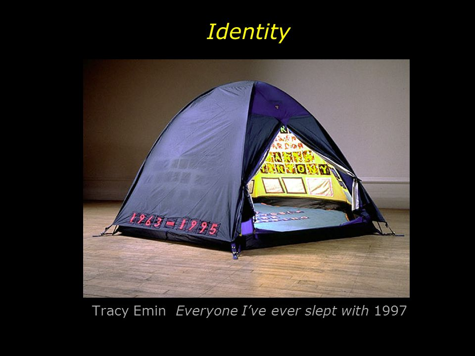 Tracy Emin Everyone I've ever slept with 1997