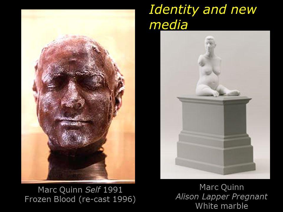 Marc Quinn Self 1991 Frozen Blood (re-cast 1996)