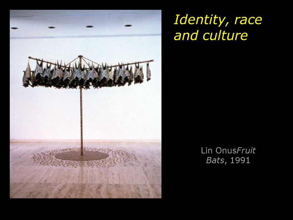 Identity, race and culture