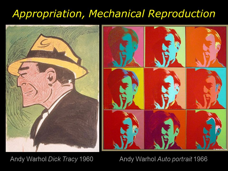 Appropriation, Mechanical Reproduction