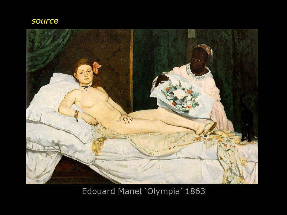 Edouard Manet 'Olympia' 1863