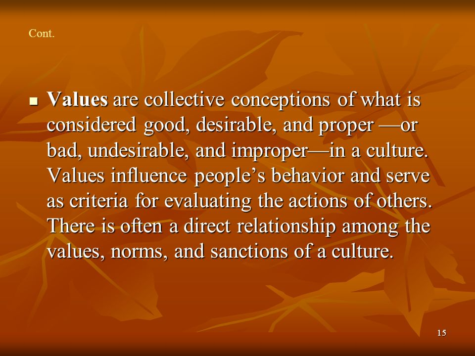 cultural norms and relationship building