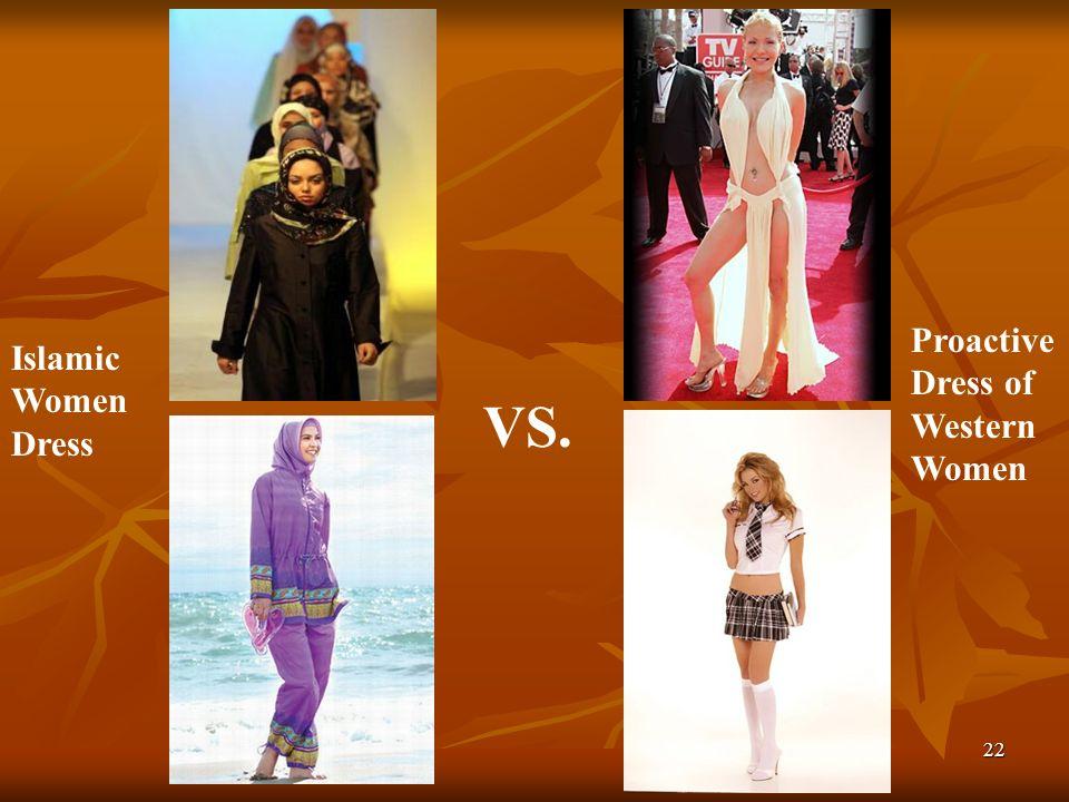 Proactive Dress of Western Women