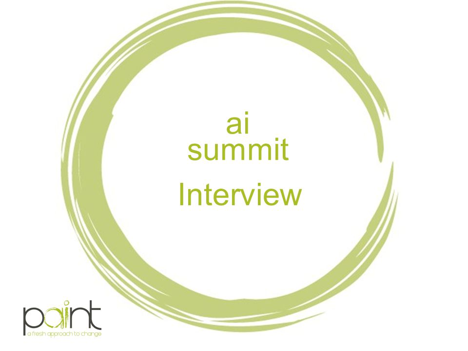 ai summit Interview.