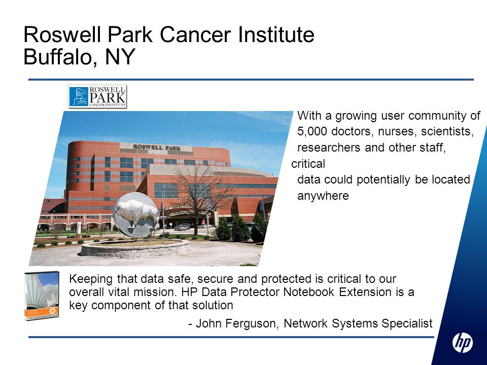 Roswell Park Cancer Institute Buffalo, NY