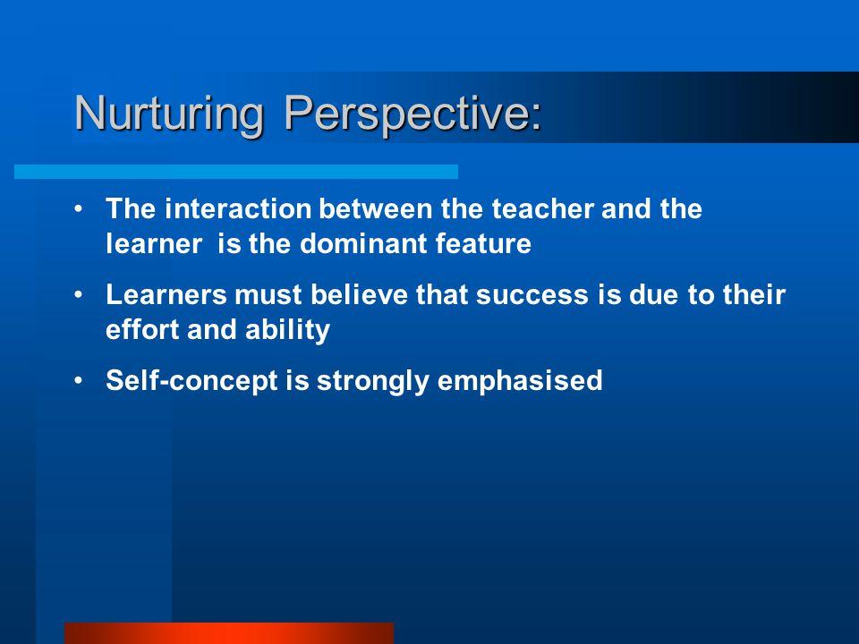 Nurturing Perspective:
