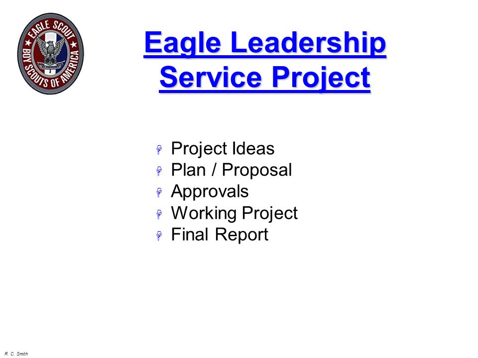 Eagle Leadership Service Project