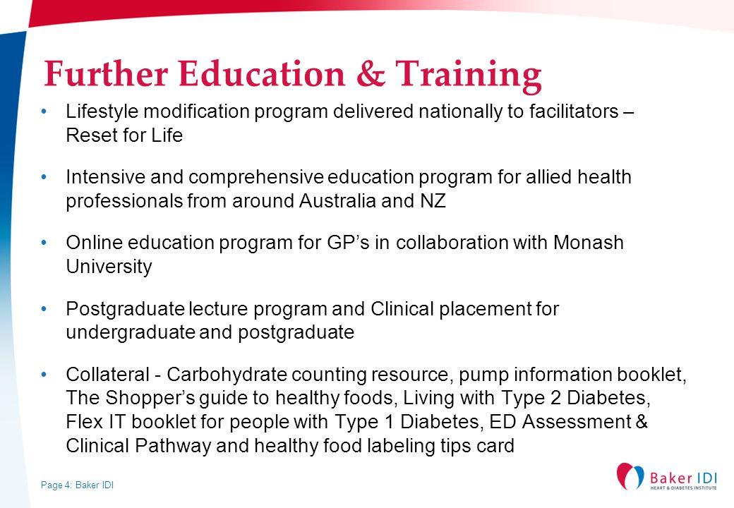Further Education & Training