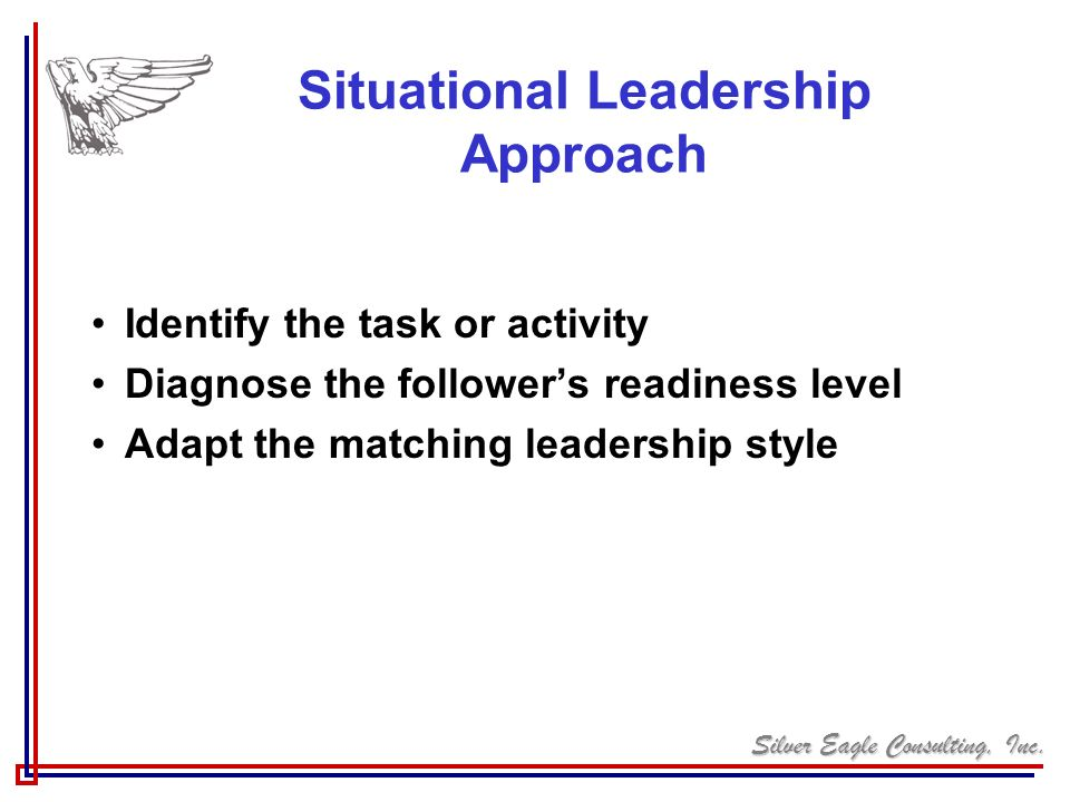 Situational Leadership Approach