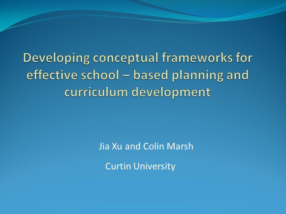 Jia Xu and Colin Marsh Curtin University