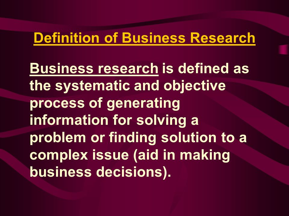 definition of business research Organisations that are formal service systems include businesses and  it uses  and extends the tools and methods of operations research, industrial.