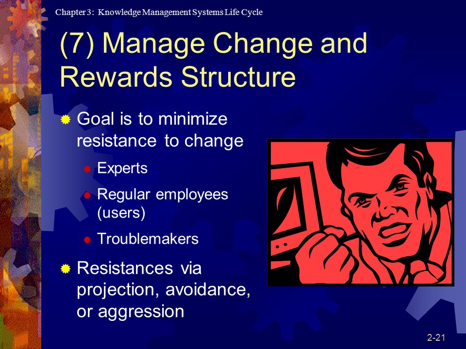 (7) Manage Change and Rewards Structure