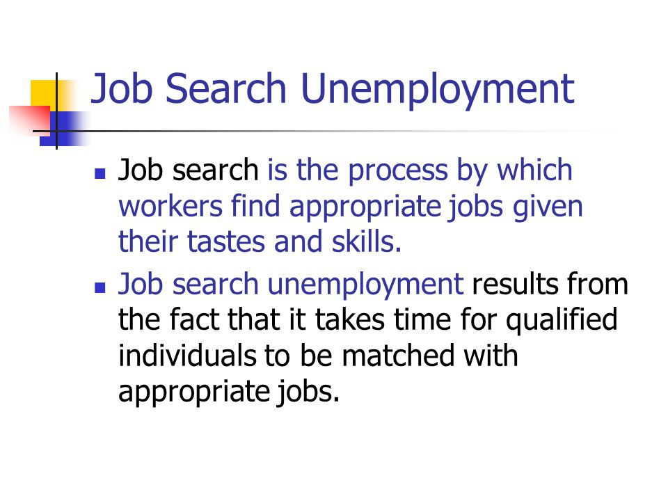 Job Search Unemployment