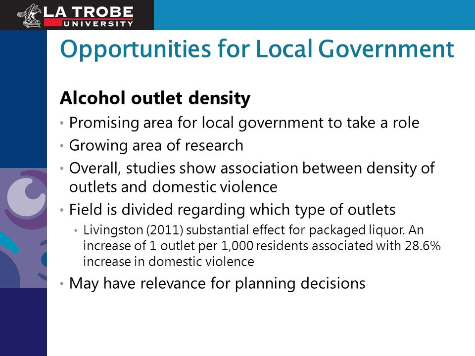 Opportunities for Local Government