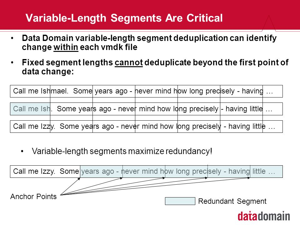 Variable-Length Segments Are Critical