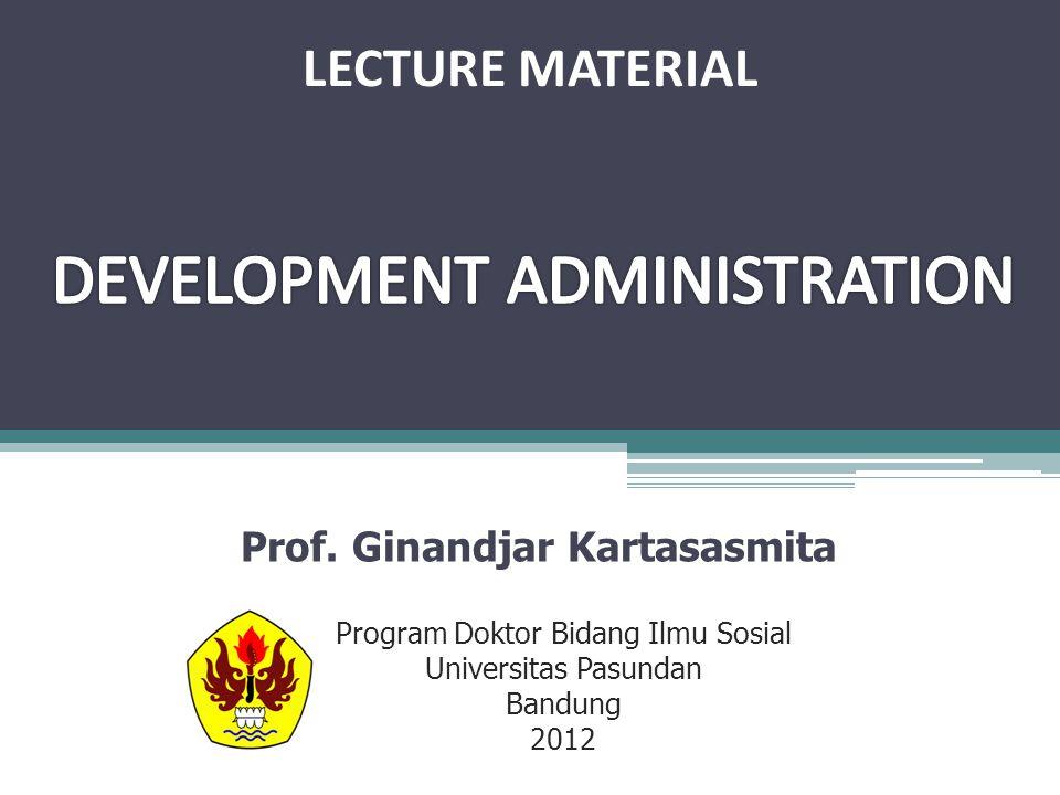Prof. Ginandjar Kartasasmita