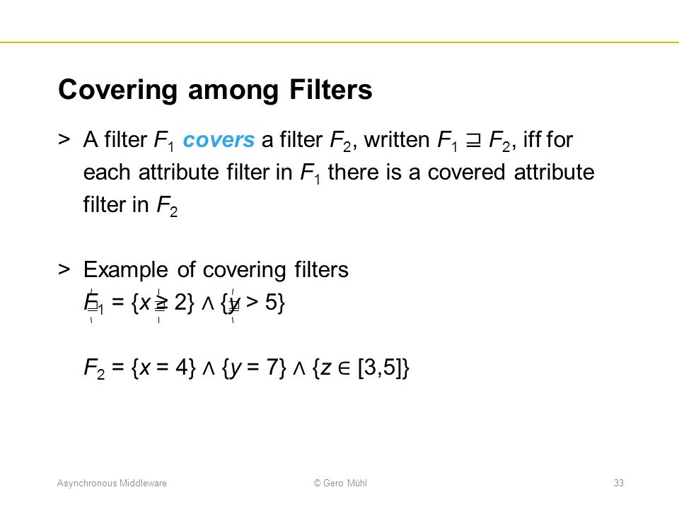 Covering among Filters