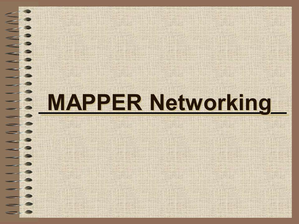 MAPPER Networking
