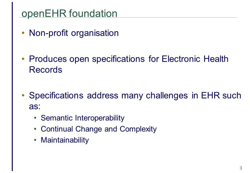 openEHR foundation Non-profit organisation