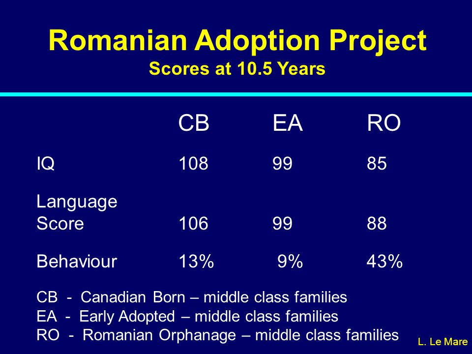 Romanian Adoption Project