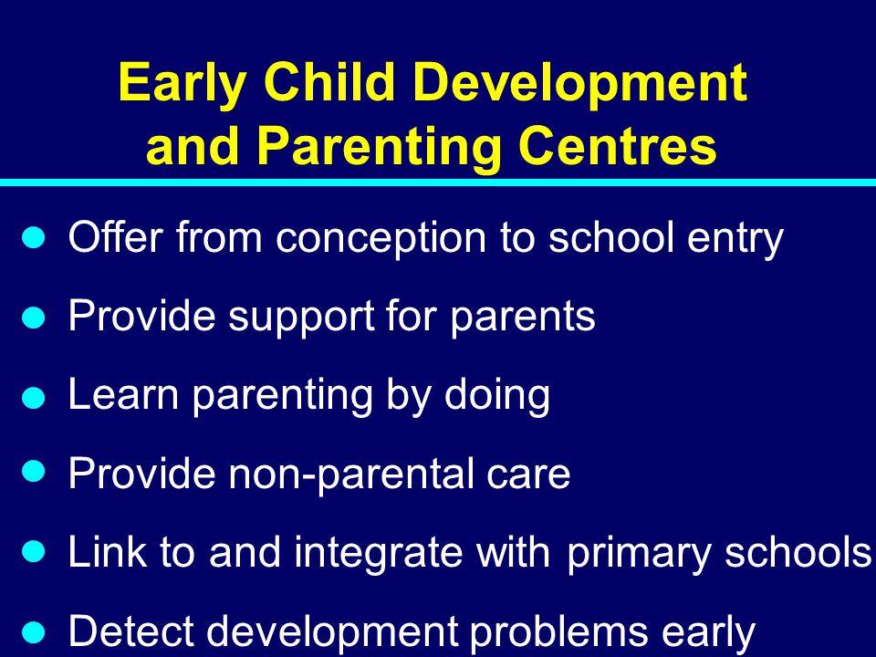 Early Child Development