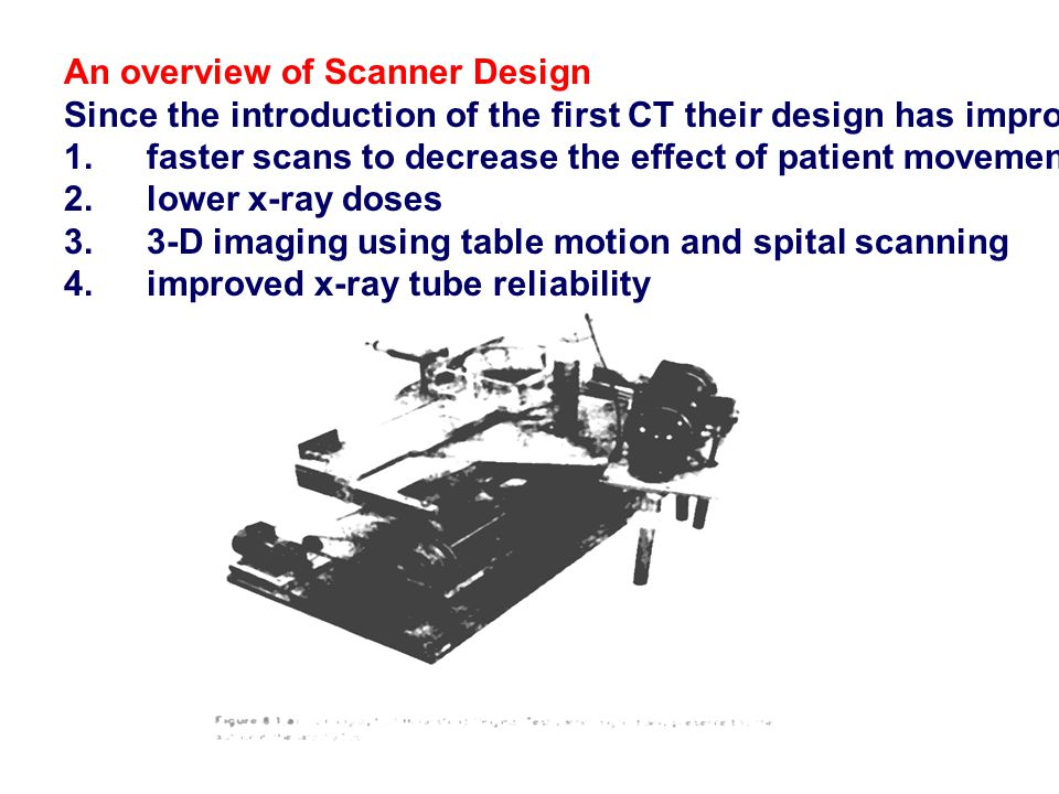 An overview of Scanner Design