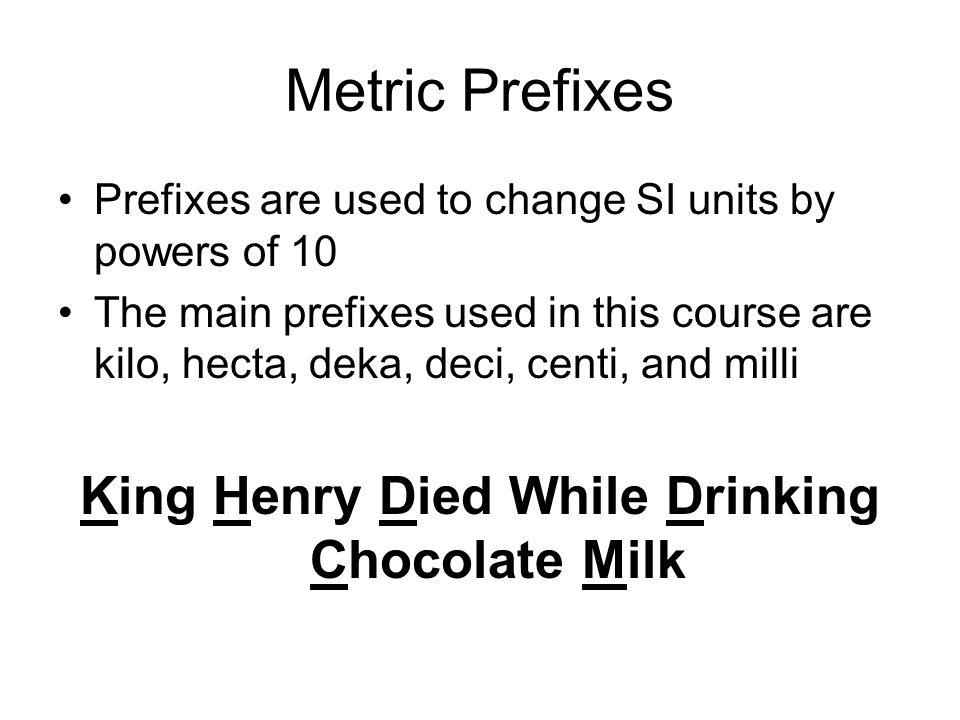 King Henry Died While Drinking Chocolate Milk