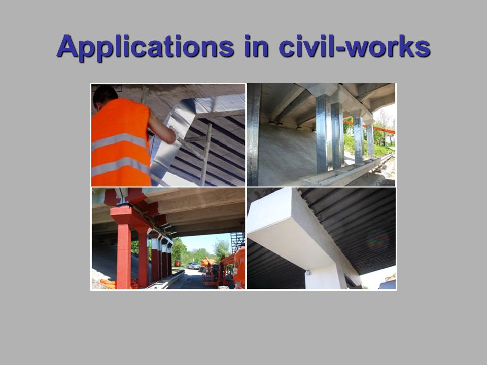 Applications in civil-works