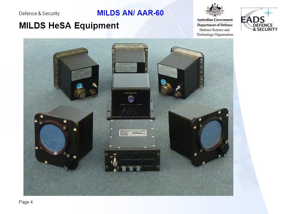 MILDS HeSA Equipment
