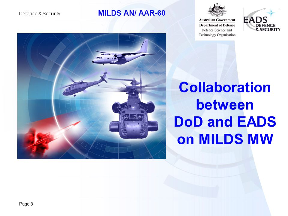 Collaboration between DoD and EADS