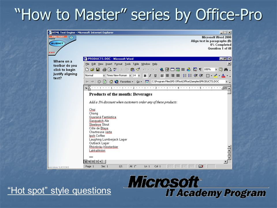 How to Master series by Office-Pro