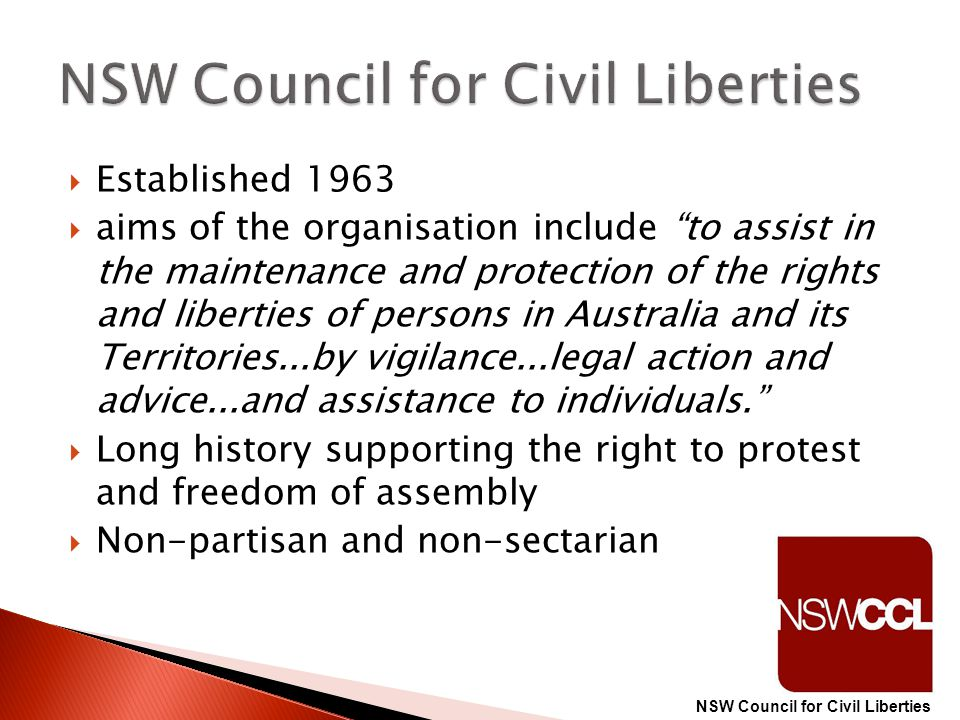 NSW Council for Civil Liberties