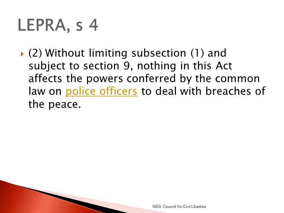 LEPRA, s 4
