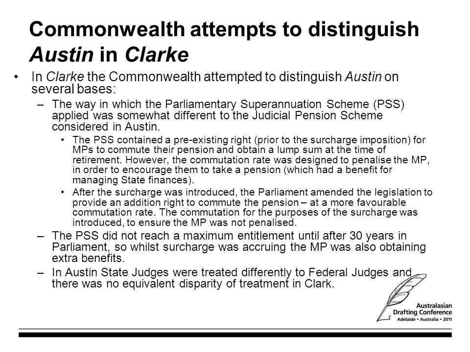 Commonwealth attempts to distinguish Austin in Clarke