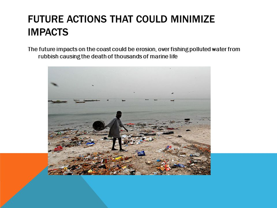 Future actions that could minimize impacts
