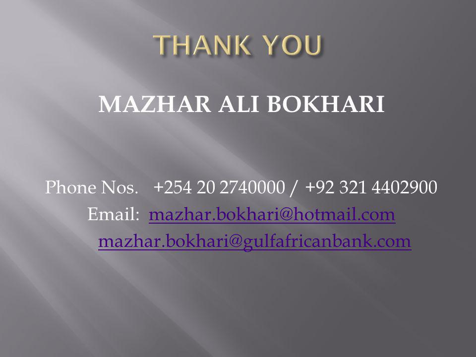 Email: mazhar.bokhari@hotmail.com