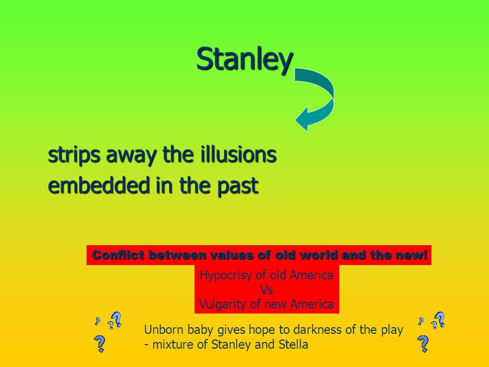 Stanley strips away the illusions embedded in the past