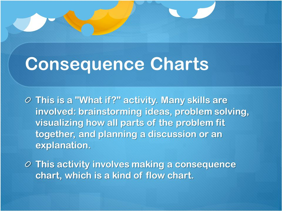 Consequence Charts